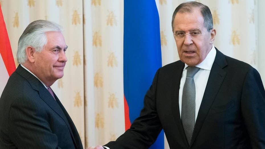 Tillerson, Lavrov to hold joint presser after meeting