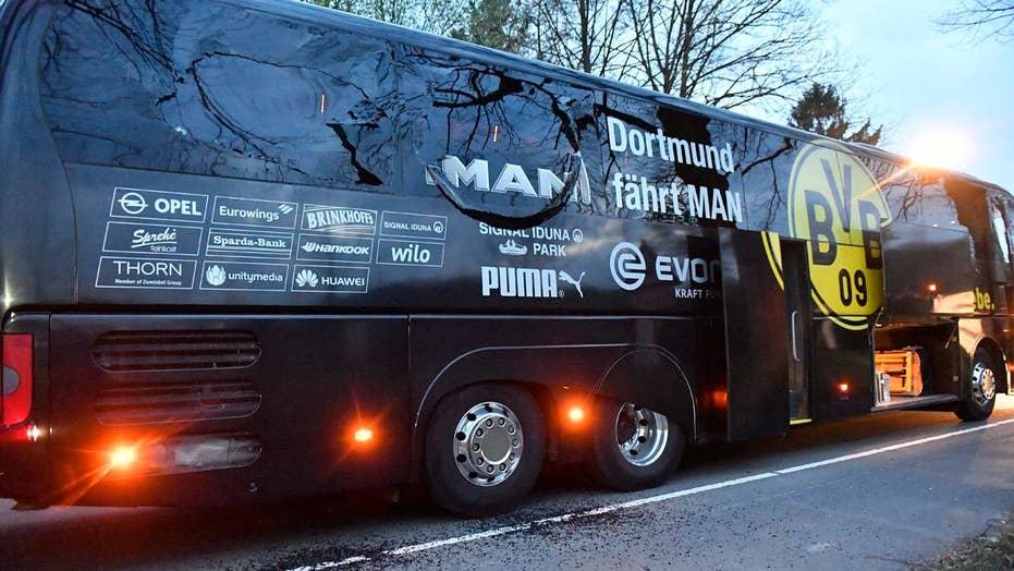 German police suspect terrorism in soccer team bus attack