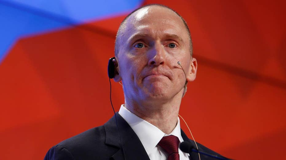 Carter Page responds to claim that he was under surveillance