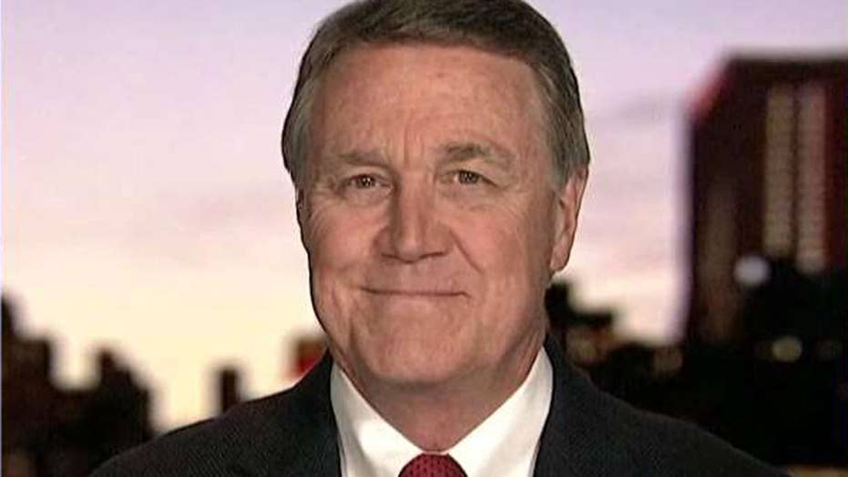 Sen. Perdue: US president is standing up and leading again