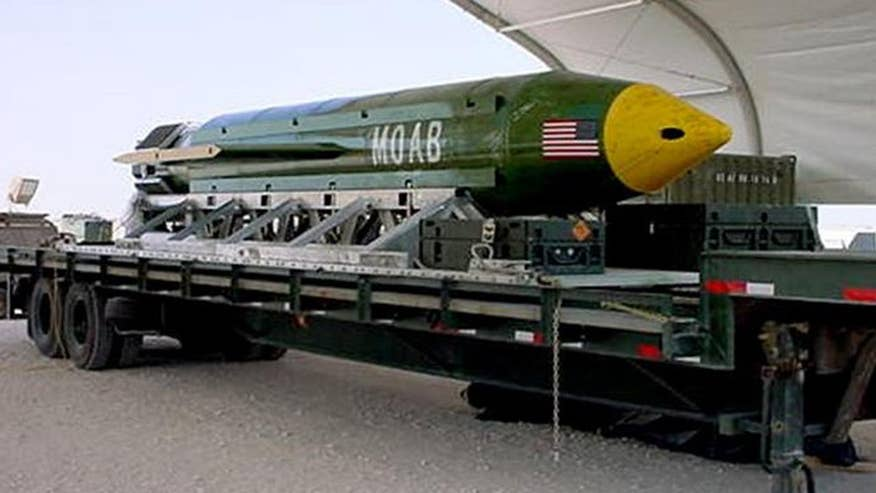 Jennifer Griffin reports on the U.S. decision to drop the largest non-nuclear bomb on Afghanistan