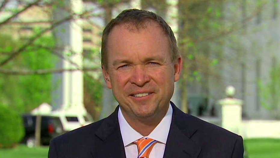 Mick Mulvaney talks 'redefining' the federal government