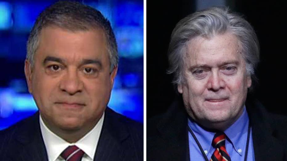 David Bossie hopes Bannon, White House can 'work it out'