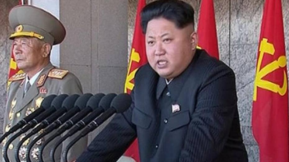 North Korea vows to counter any US military moves