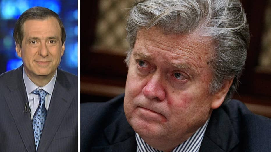 Kurtz: The bullseye on Steve Bannon