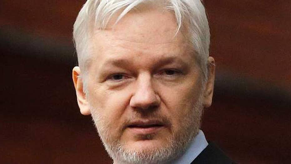 CIA Director Pompeo singles out WikiLeaks' Assange