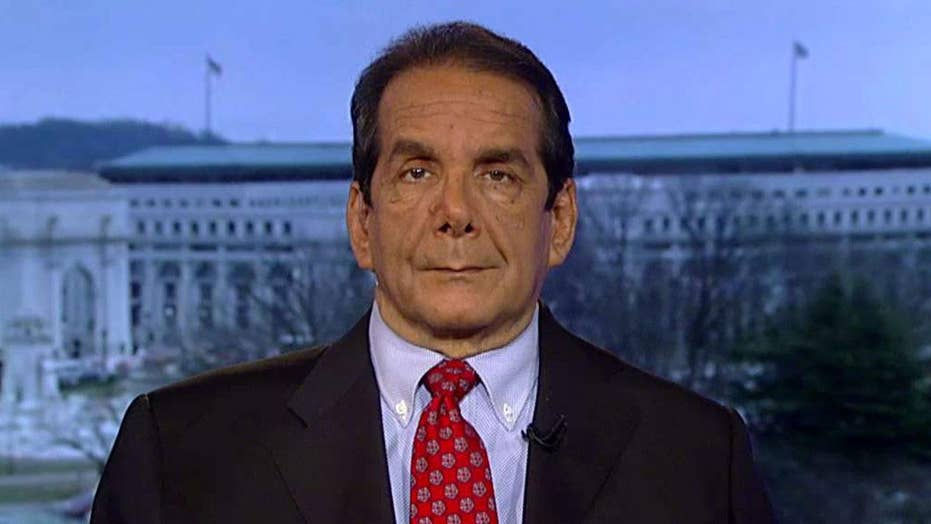 Krauthammer: Afghanistan bombing