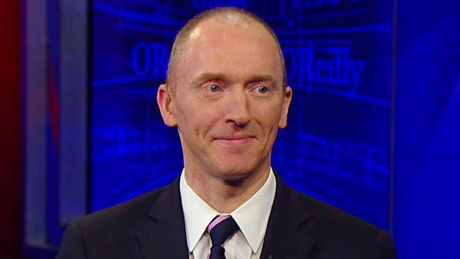 Carter Page enters the 'No Spin Zone'