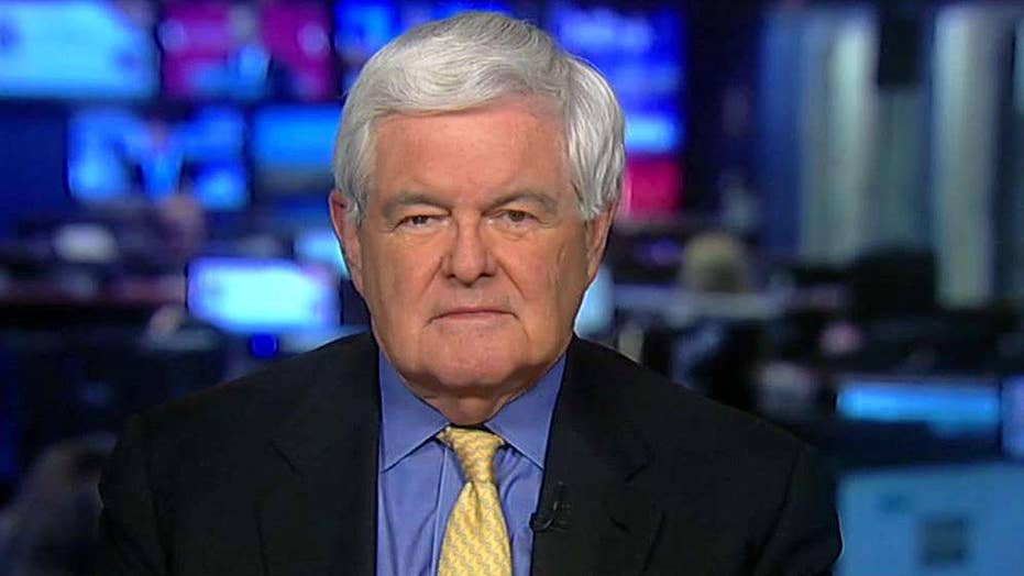 Gingrich: US has more military options than Obama thought
