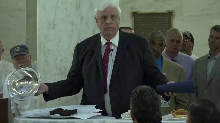 Governor uses real bull sh*t to show displeasure with bill