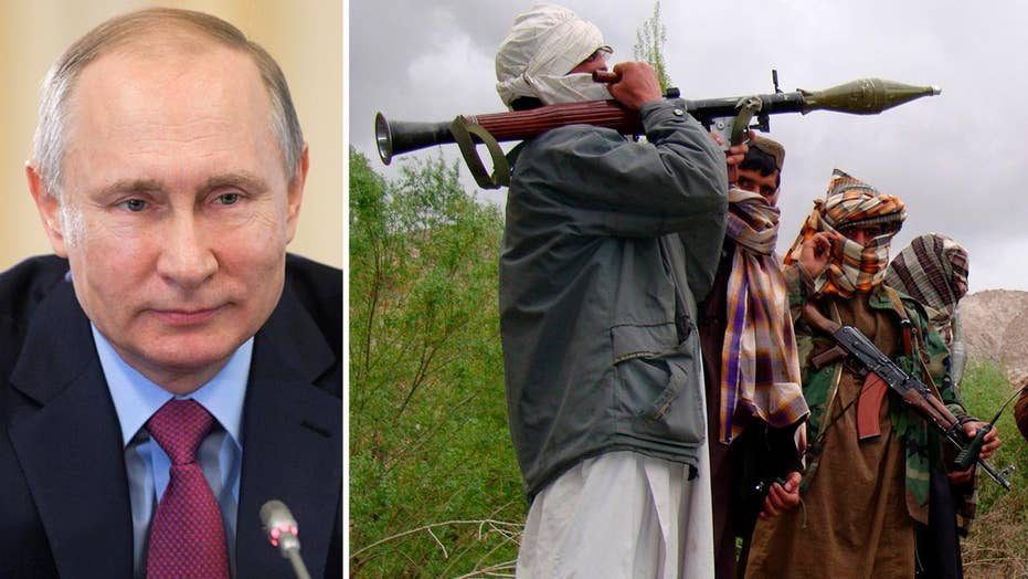 US accuses Russia of propping up Taliban in Afghanistan