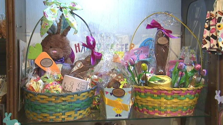 Growing Easter basket trend swaps candy for pricey gifts