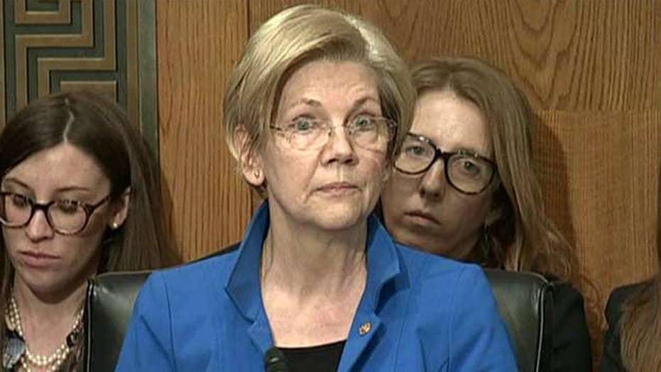 Elizabeth Warren slams President Trump's foreign policy