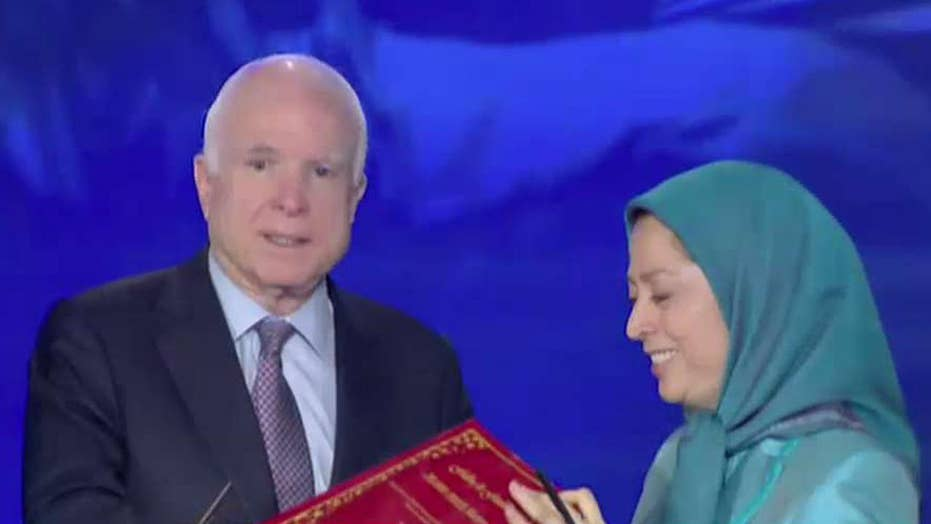 Eric Shawn reports: Sen. McCain urges new Iran pressure