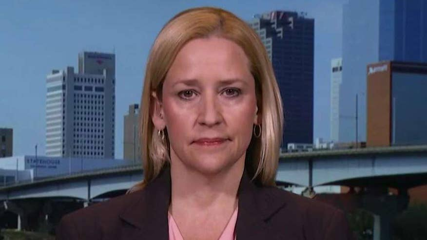 Leslie Rutledge speaks out on cases on 'America's Newsroom'