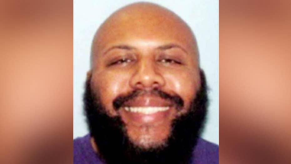 Manhunt widens for suspect in Facebook murder