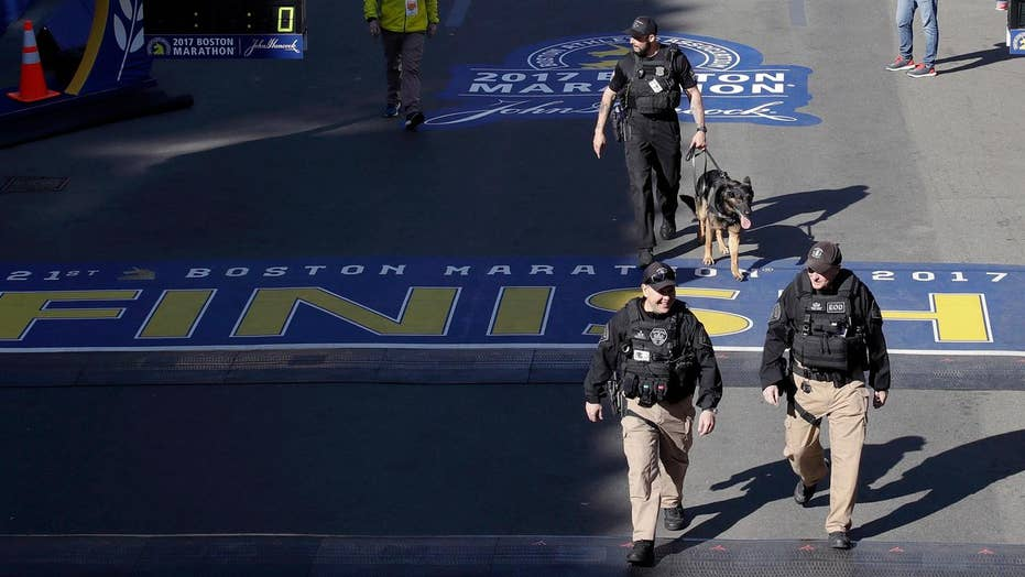 Boston Marathon kicks off with extra security