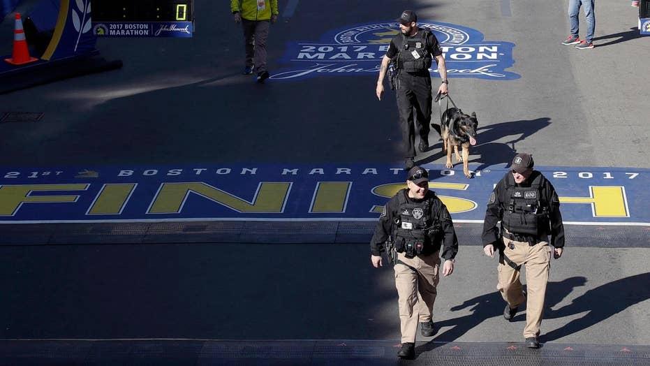 Boston Marathon kicks off with extra security
