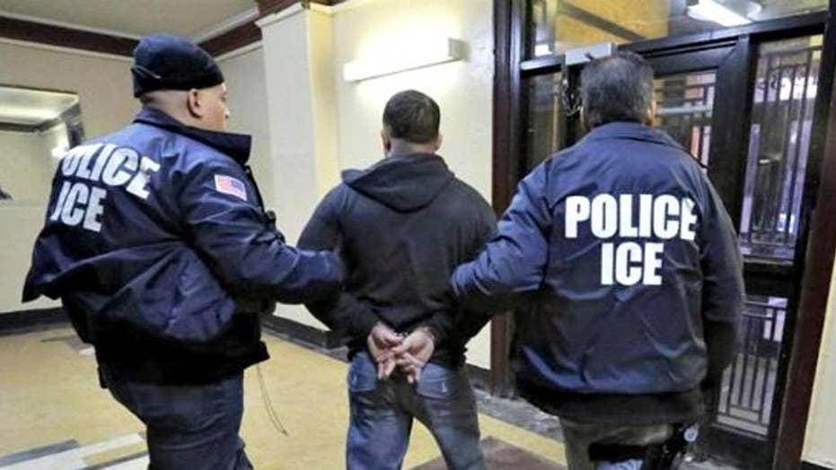Report: Illegal immigrant arrests up 32 percent under Trump
