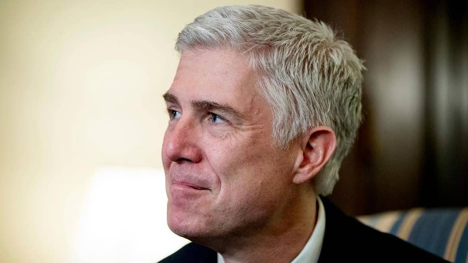 Supreme Court Justice Gorsuch begins first day on the job