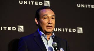 Shares of United Airlines' parent company fell more than 4 percent on Tuesday
