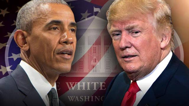 President Trump criticizes Obama's foreign policy legacy