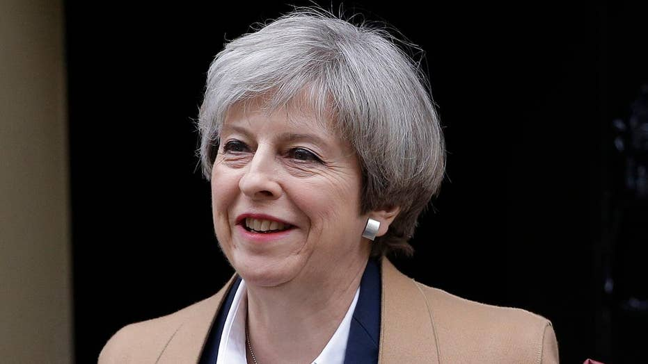 British PM Theresa May planning another UK general election