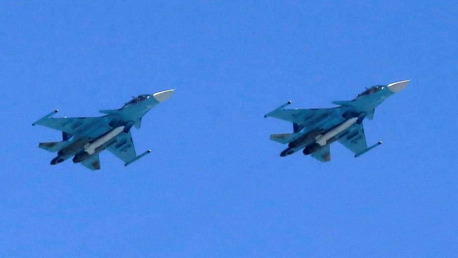Russian bombers intercepted off coast of Alaska