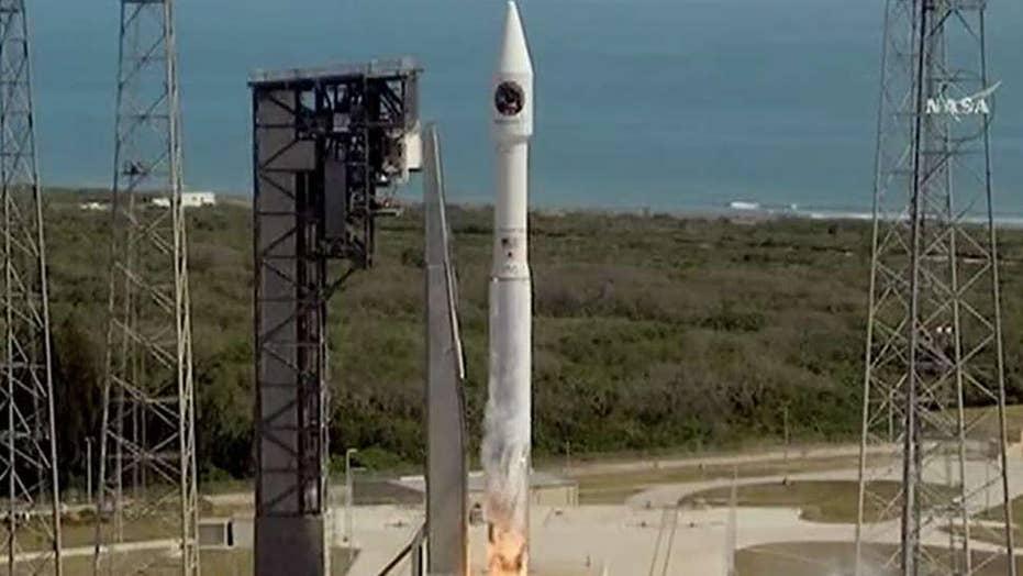 NASA launches cargo vessel honoring John Glenn