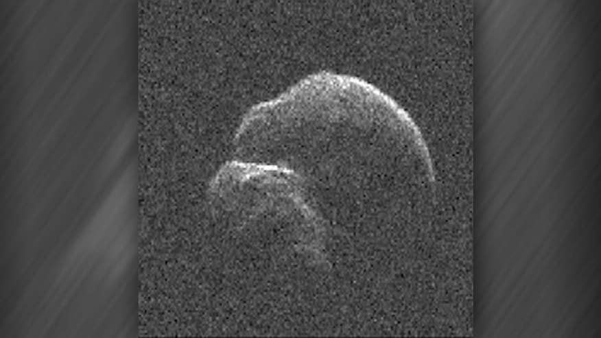 Raw video: Images of asteroid 2014 JO25 obtained using space agecy's 230-foot antenna at Goldstone Deep Space Communications Complex in California