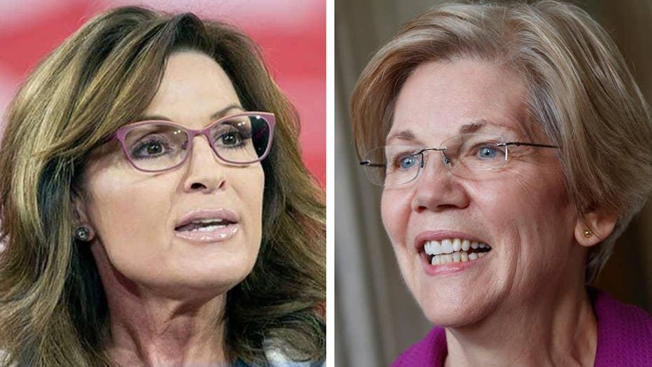 Sarah Palin: Elizabeth Warren stole my line
