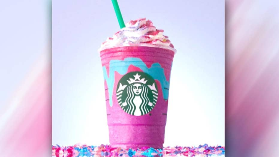 Starbucks unveils new Unicorn Frappuccino drink