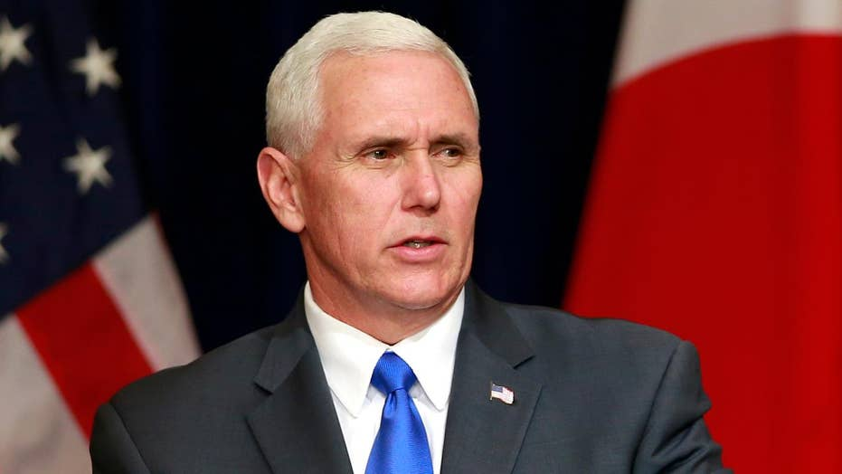 VP Pence to North Korea: 'Sword stands ready'
