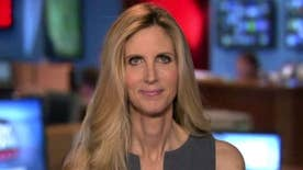 Author and commentator Ann Coulter sounds off on her scheduled speech at UC Berkeley being cancelled out of safety concerns, the latest incident where liberal protesters have prevented conservatives from exercising their First Amendment rights