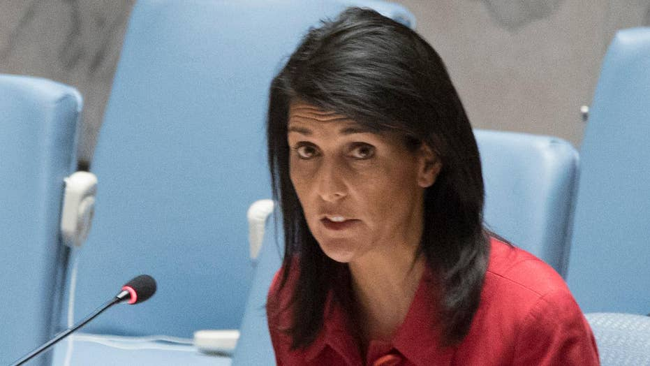 Amb. Nikki Haley changing the tone, focus at the U.N.