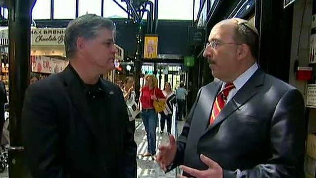 'Hannity' visits the site of terror attack in Israel