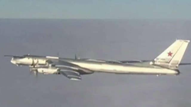 Russian bombers fly near Alaska again