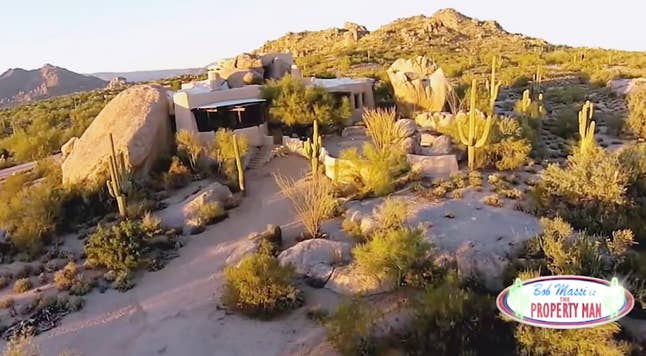 Property Man: Bob Massi explores a truly unique home in the Sonoran Desert built into natural boulders. 'The Property Man' airs Fridays at 8:30 PM ET on FBN