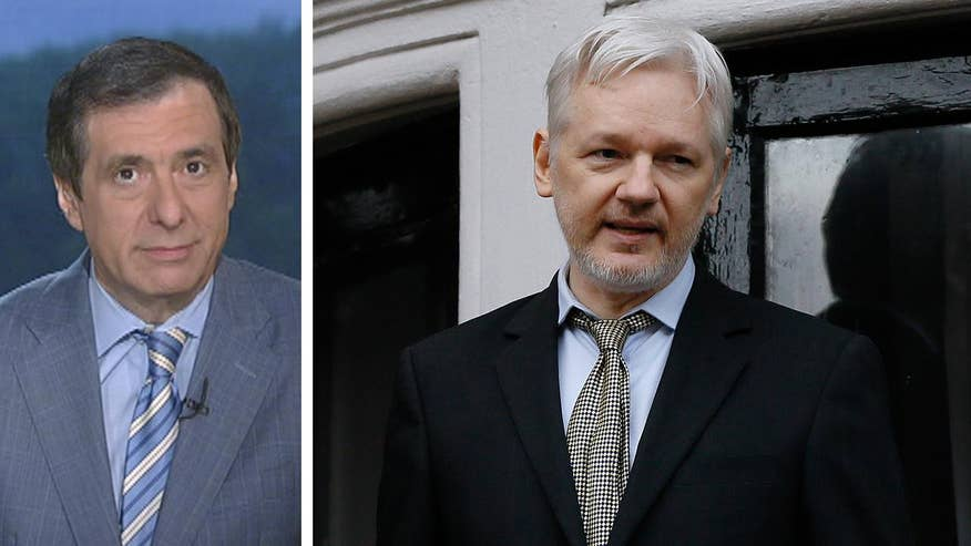 'MediaBuzz' host Howard Kurtz weighs in on reports saying the Trump administration is preparing criminal charges against WikiLeaks founder Julian Assange