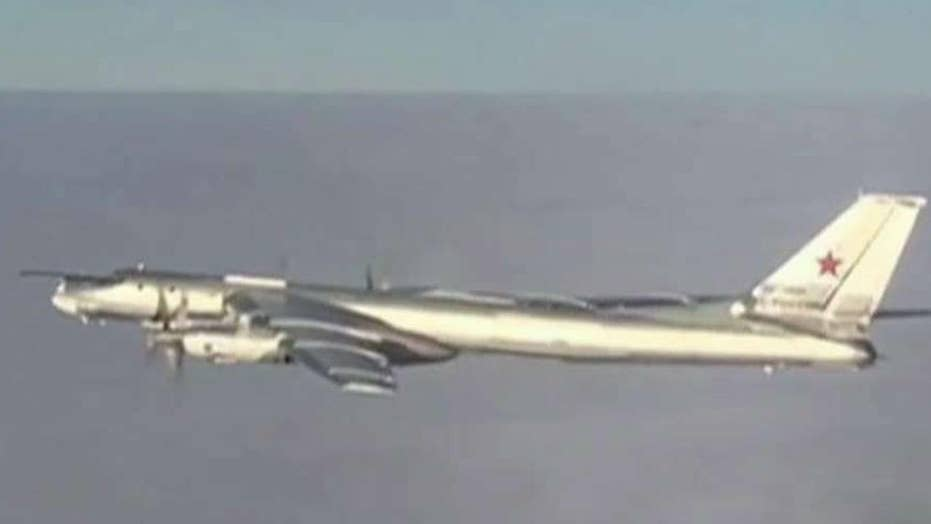 Russian bombers fly near Alaska again