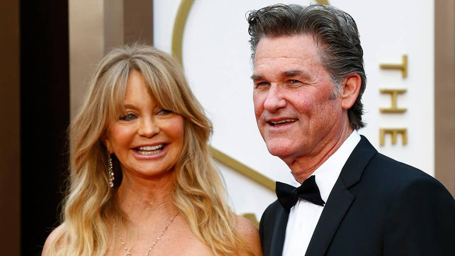 Police walked in on Kurt Russell and Goldie Hawn having sex