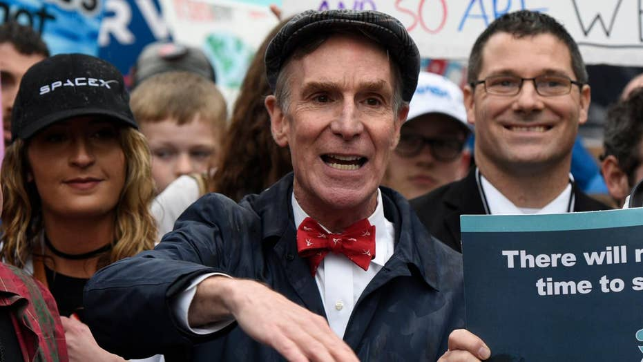 Bill Nye among demonstrators at 'March for Science' in DC