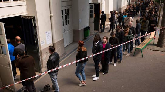 French voters head to the polls for presidential election