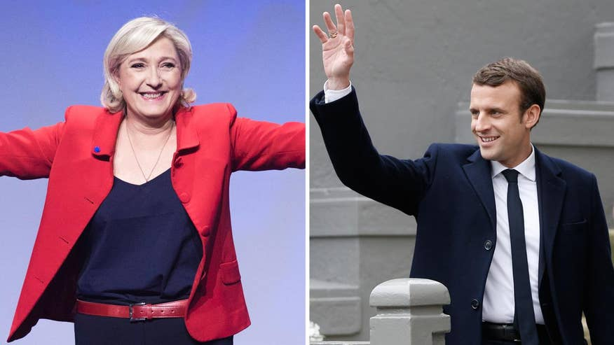 Greg Palkot details the close race in the French presidential campaign