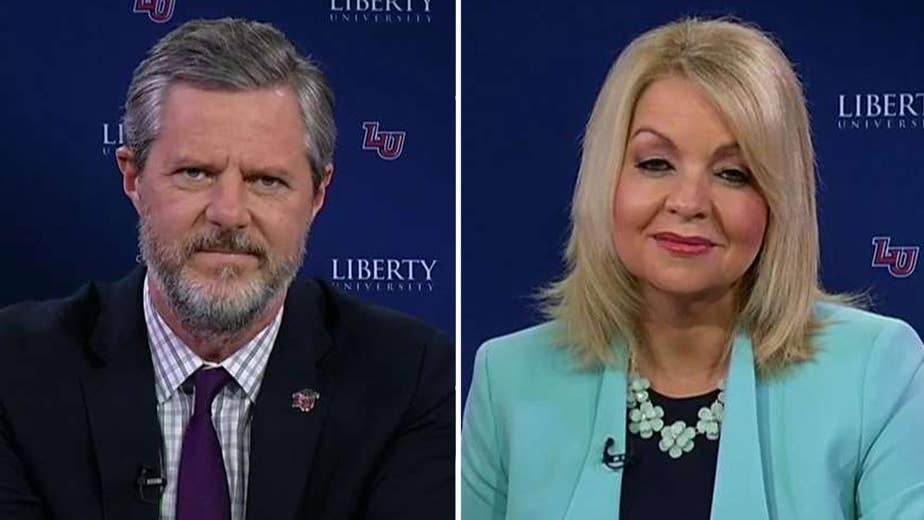 Jerry Falwell Jr. explains on 'Fox & Friends' how the university is helping people get over tech addiction