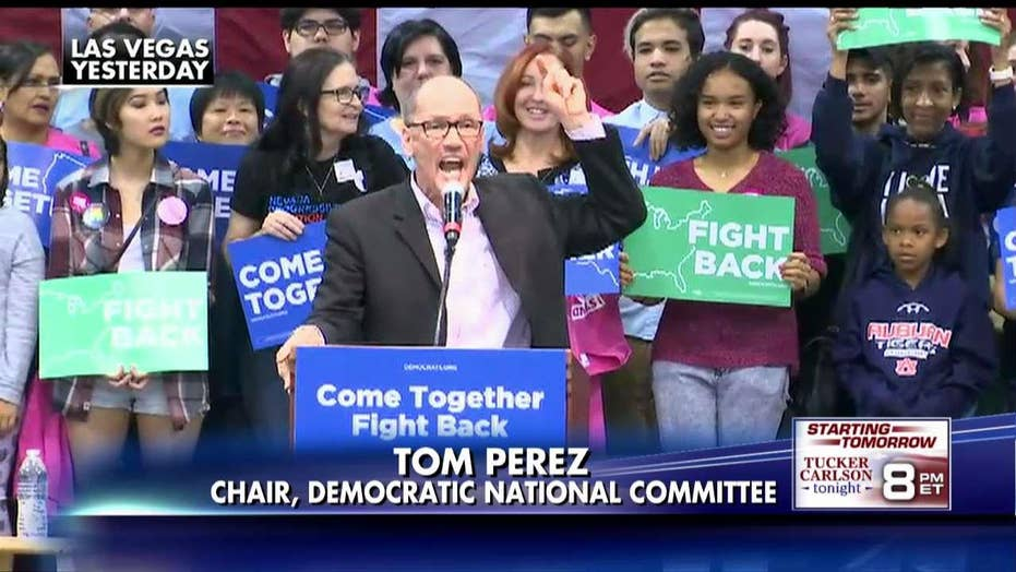 Tom Perez continues cursing on the road