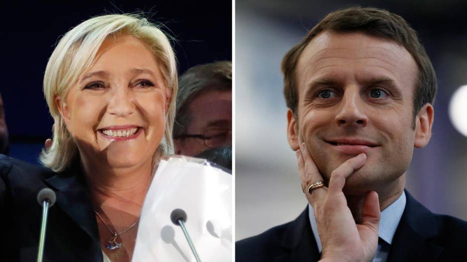 French election results in runoff between Le Pen and Macron