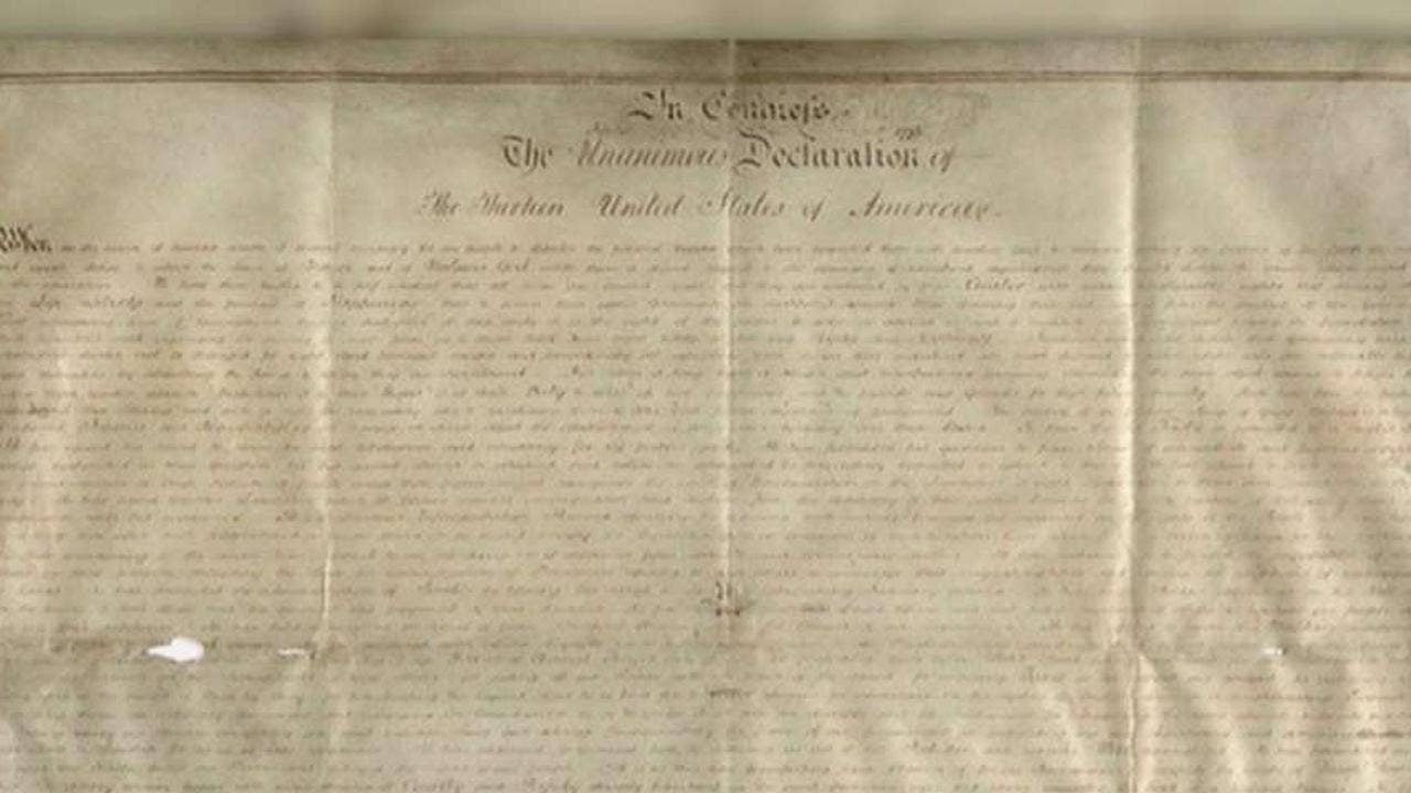 Declaration of Independence discovery stuns experts