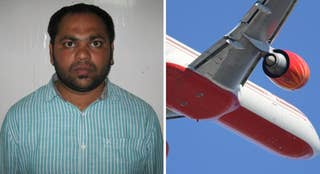 Married man with a child arrested after trying to avoid trip with his online girlfriend by sending fake plane hijacking plot in hoax email to police