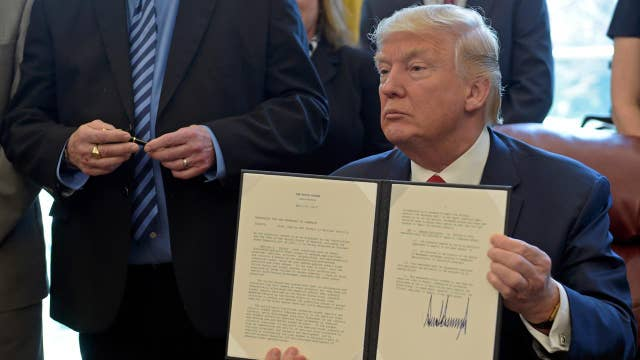 Trump to ramp up executive orders as he reaches 100th day